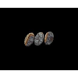 Bases ovales de 75mm (2)