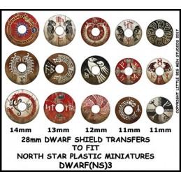 DWARF(NS)3 - Décalcos pour...