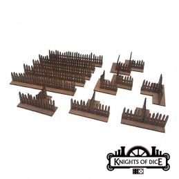 Set de barrières/clôtures