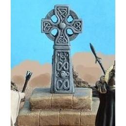 Croix celtique sur socle