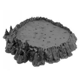 Gros cratère en fusion/lac...