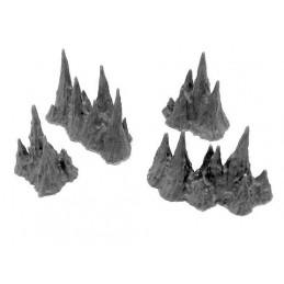 Petits stalagmites