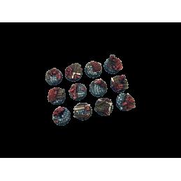 Bases rondes de 25mm (5)