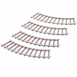 Rails courbes