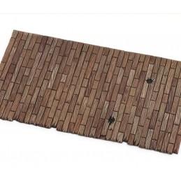 Dalle de sol en bois