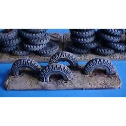 Obstacle de pneus 2