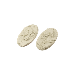 Bases ovales de 90mm (2)