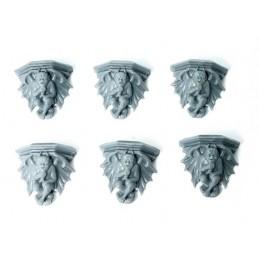 Gargouilles bas-reliefs