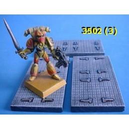 Sol (modèle 3) de 6cm x 3cm