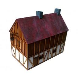 Maison avec grange à foin