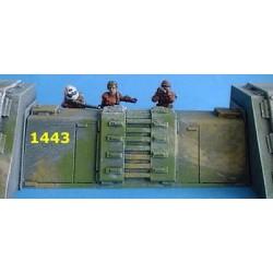 Az-tech mur de protection 9cm