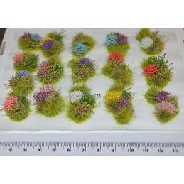 TM20 - Touffes florales...