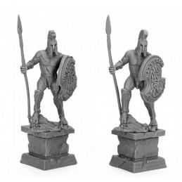 17317 Statues de guerriers