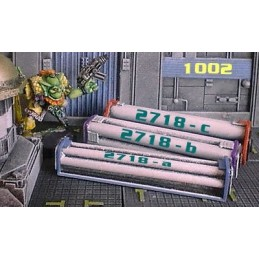 Piles de tuyaux
