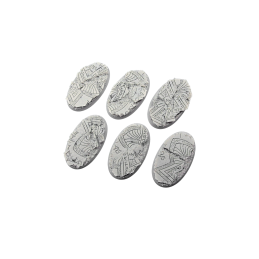 Bases ovales de 60mm (4)