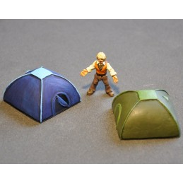 Tentes dômes