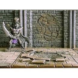 Mur de donjon 6cm colmaté 2