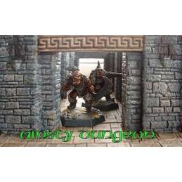 Entrée de souterrain/catacombes
