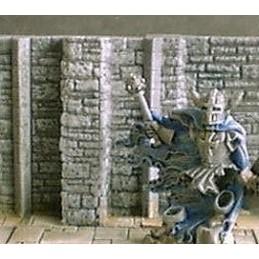 Murs de donjon 3cm avec renforcements