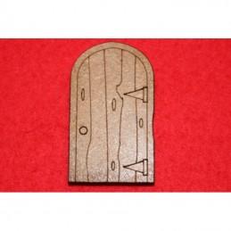 Porte simple en arche