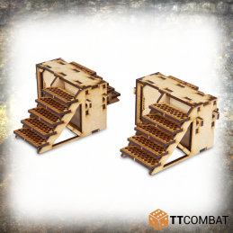 Iron Labyrinthe - escaliers