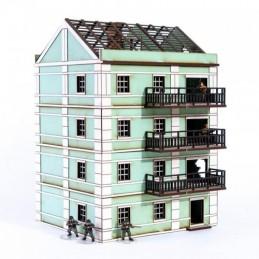 Fin de block maison Pavlov