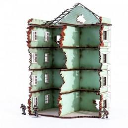 Fin de block maison Pavlov...
