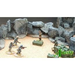 Murs de rocs 8cm