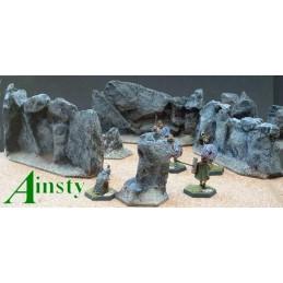 Mur de rocs