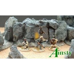 Mur de rocs avec passage en arche