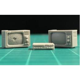 2 téléviseurs et 1 lecteur...