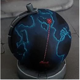 Globe terrestre géant