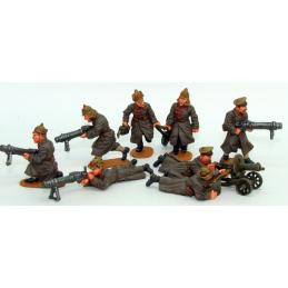 Set de mitrailleuses...