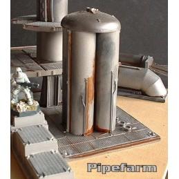 Base pour silos