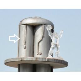 Section de silo de 5cm