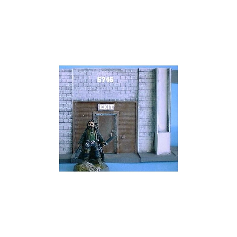 Mur 6cm avec porte