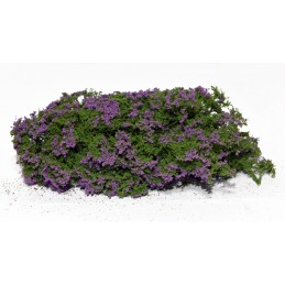 Buisson fleuri (violet)