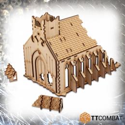 Chapelle gothique en ruine