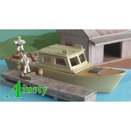 Patrouilleur avec cabine