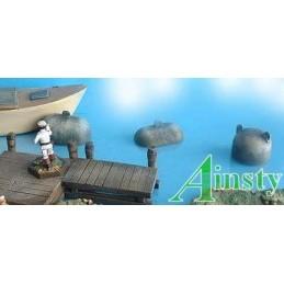 Mines flottantes