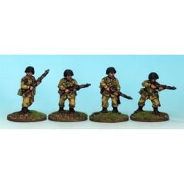 WWU022 - Parachutistes avec...