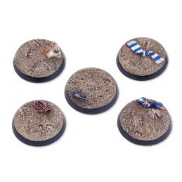 Bases rondes de 32mm (5)