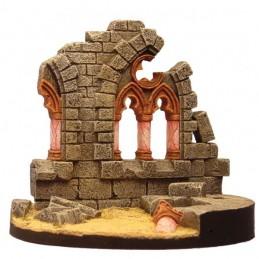 Ruine d'église gothique