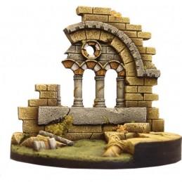 Ruine d'église romane