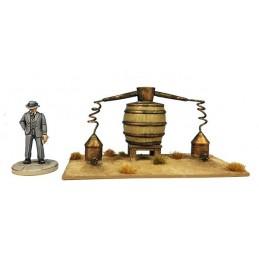 L'alambic de distillation