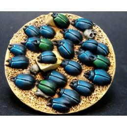 Nuée de scarabées