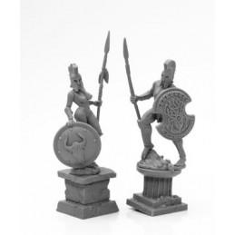 44126 Statues antiques en...