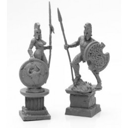 44127 Statues antiques en...
