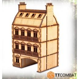 Maison de ville en arche