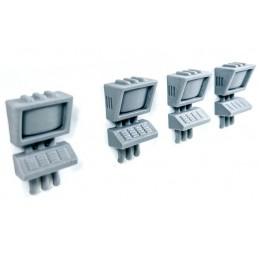 Consoles/ordinateurs muraux